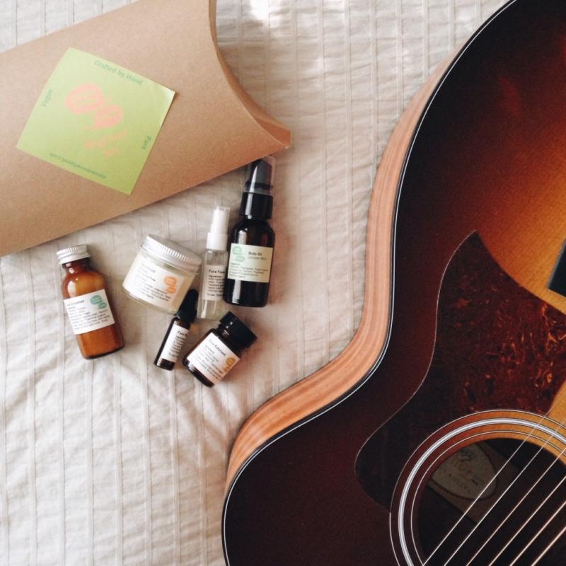 Body Oil, Deodorant, Face Toner