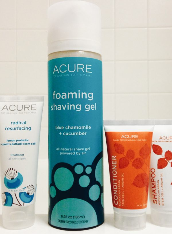 Tried, Tested + True: Acure Organics!