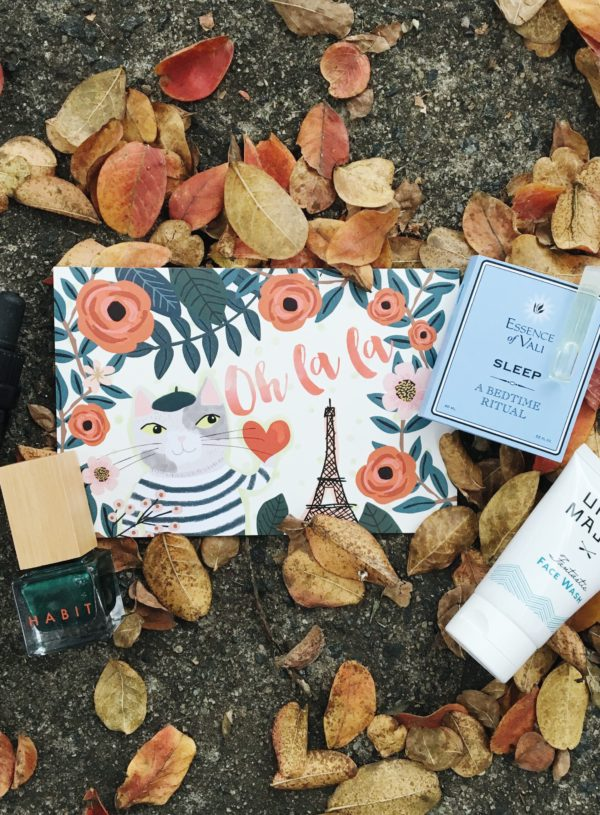 Petit Vour October Box!