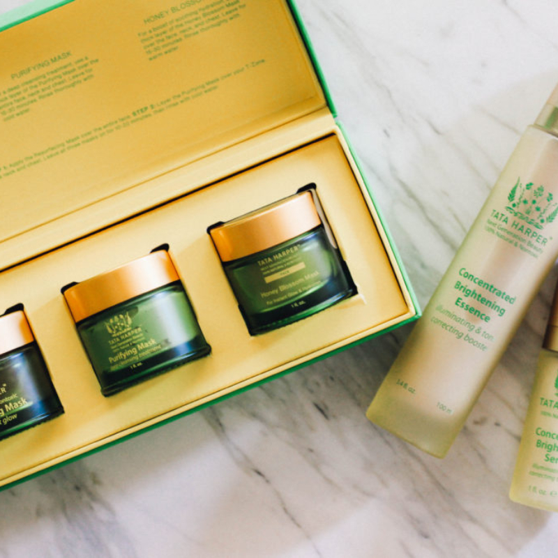 Skincare, masks, brightening serums and essence
