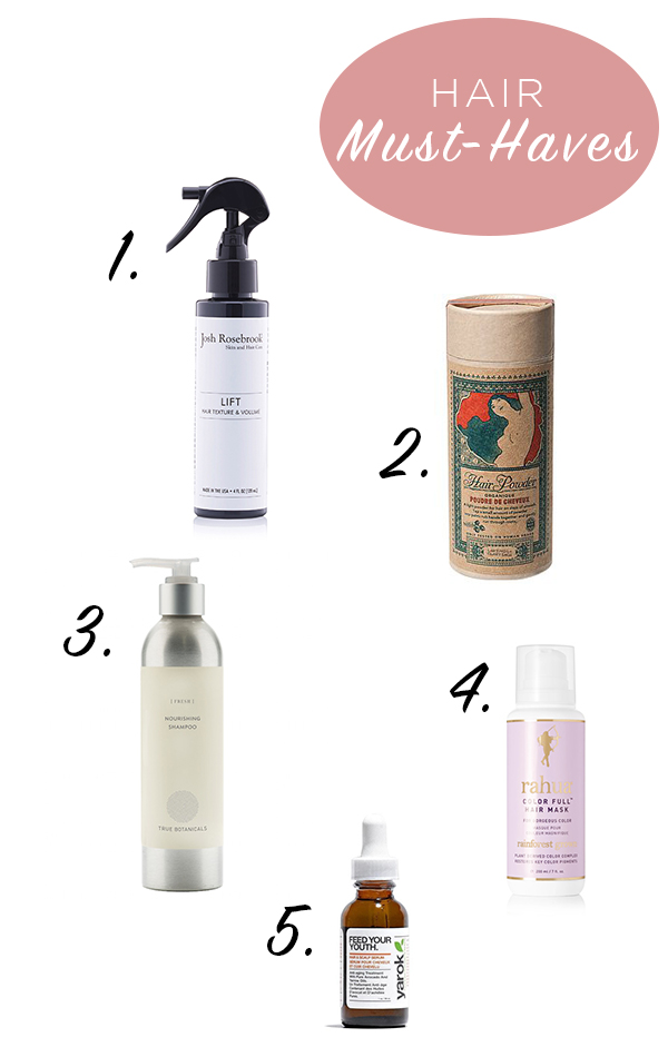 5 Favourite Hair-Lovin' Products