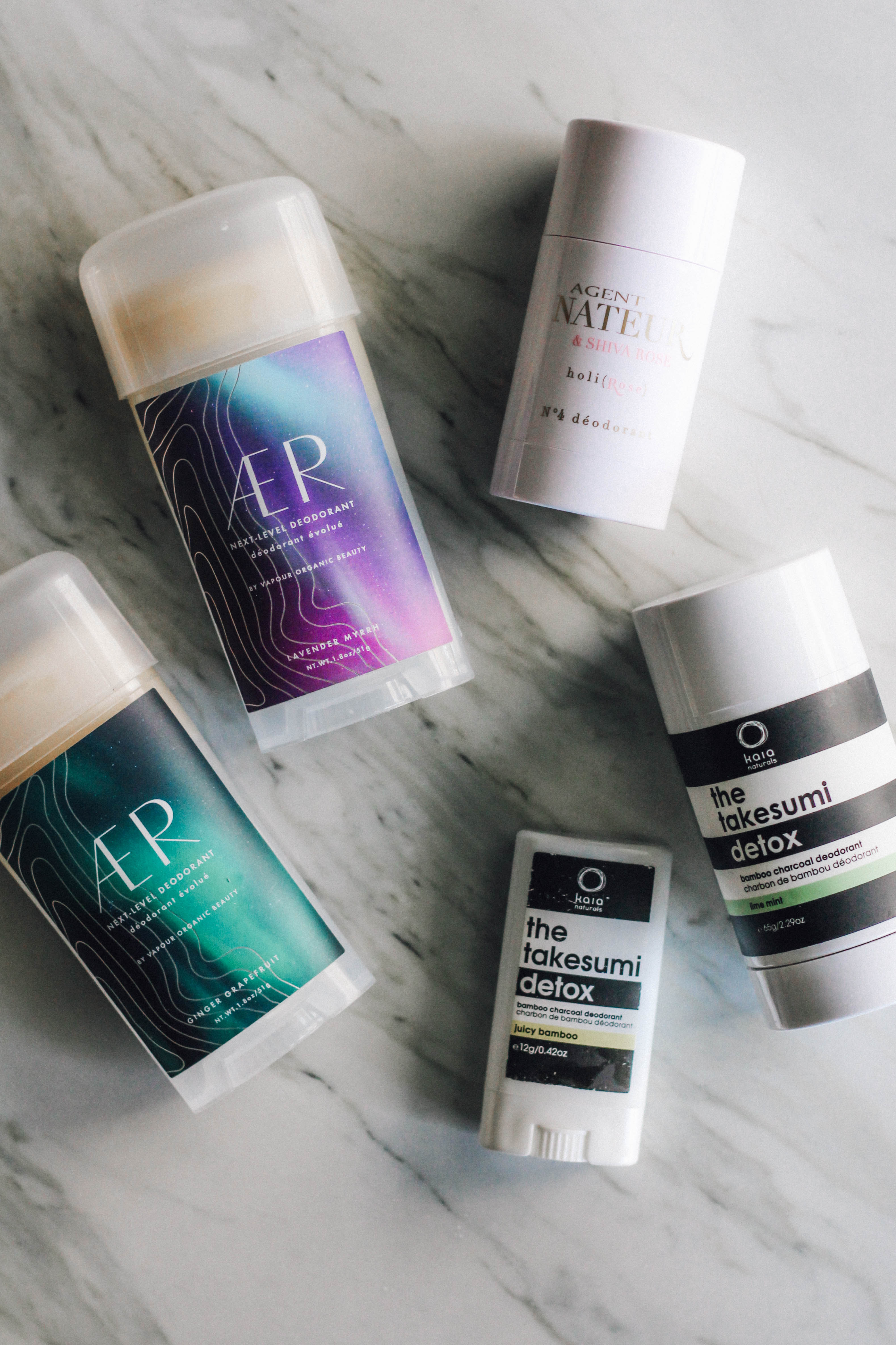 MY FAVOURITE NATURAL DEODORANTS